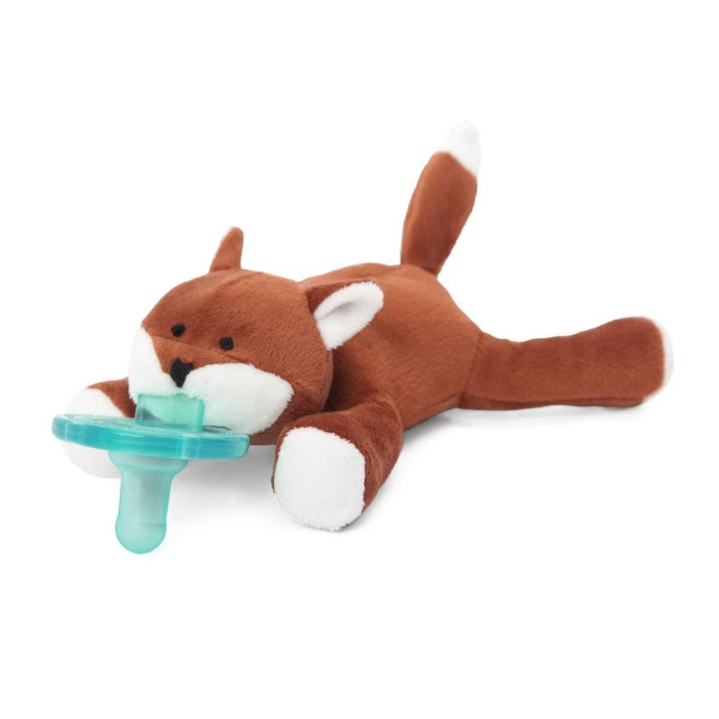 Wubbanub Brown Baby Fox Soothie Pacifier