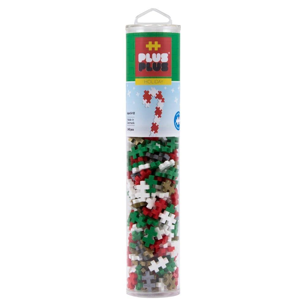 Plus-Plus - Holiday Mix With Gold & Silver, 240pc