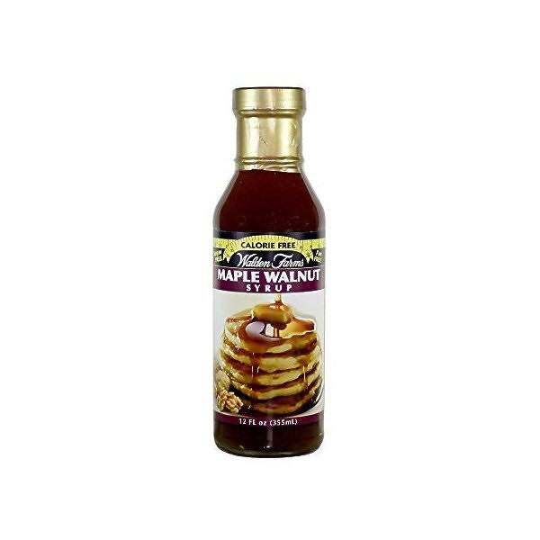 Walden Farms Calorie Maple Walnut Syrup - 12 oz