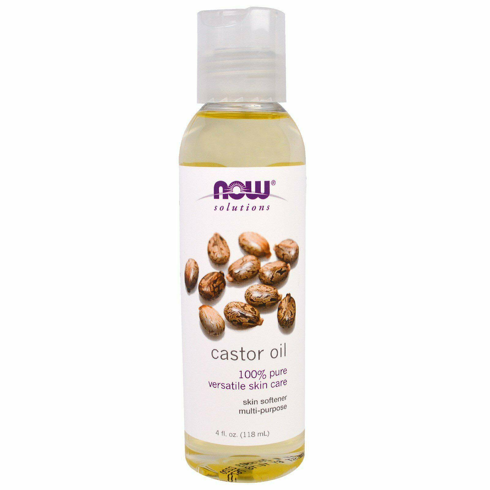 Now Foods Castor Oil - 4 fl. oz.