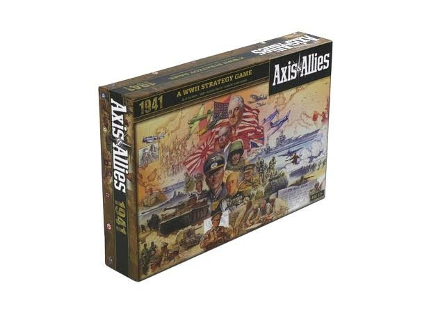 Axis and Allies 1941 A WWII Strategy Game