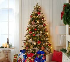 Bethlehem Lights Christmas Trees Qvc by Bethlehem Lights 7 5 U0027 Heritage Spruce Christmas Tree W Instant