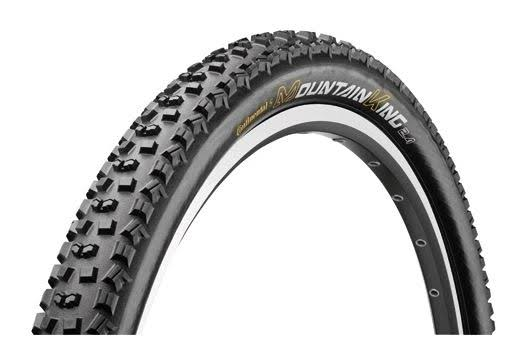 "Continental Mountain King MKII UST Folding Tire - Black, 26"" x 2.2"""