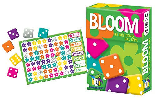 Gamewright Bloom - The Wild Flower Dice Game