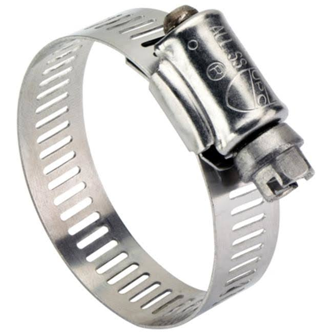"Ideal 6712153 All Stainless Steel Clamp - 11/16 to 1 1/14"" Range"