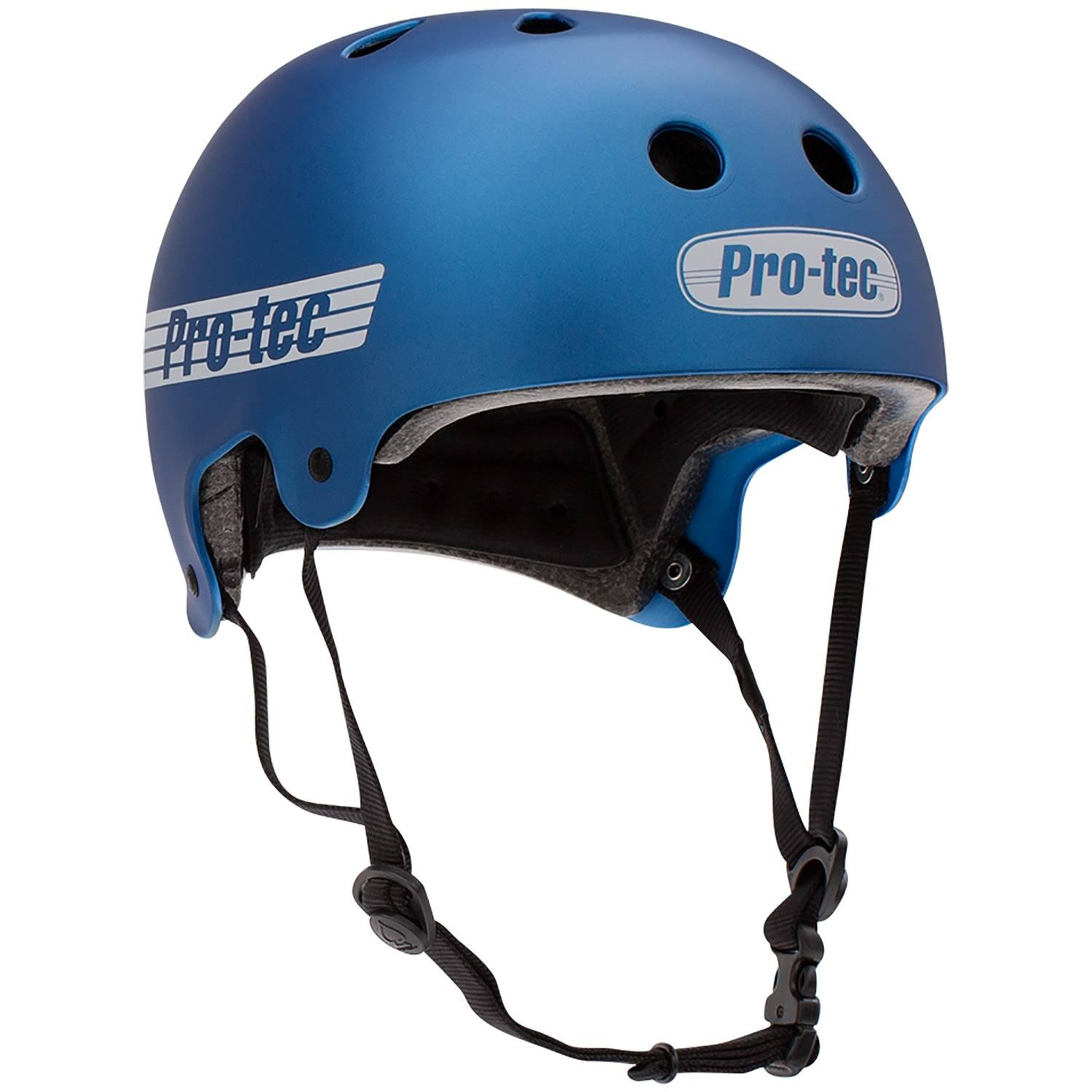 Pro Tec Old School Certified Helmet - Matte Metallic Blue