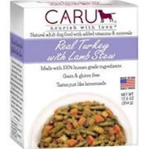 Caru Pet Food 30700552 12.5 oz Stew Daily Turkey Lamb