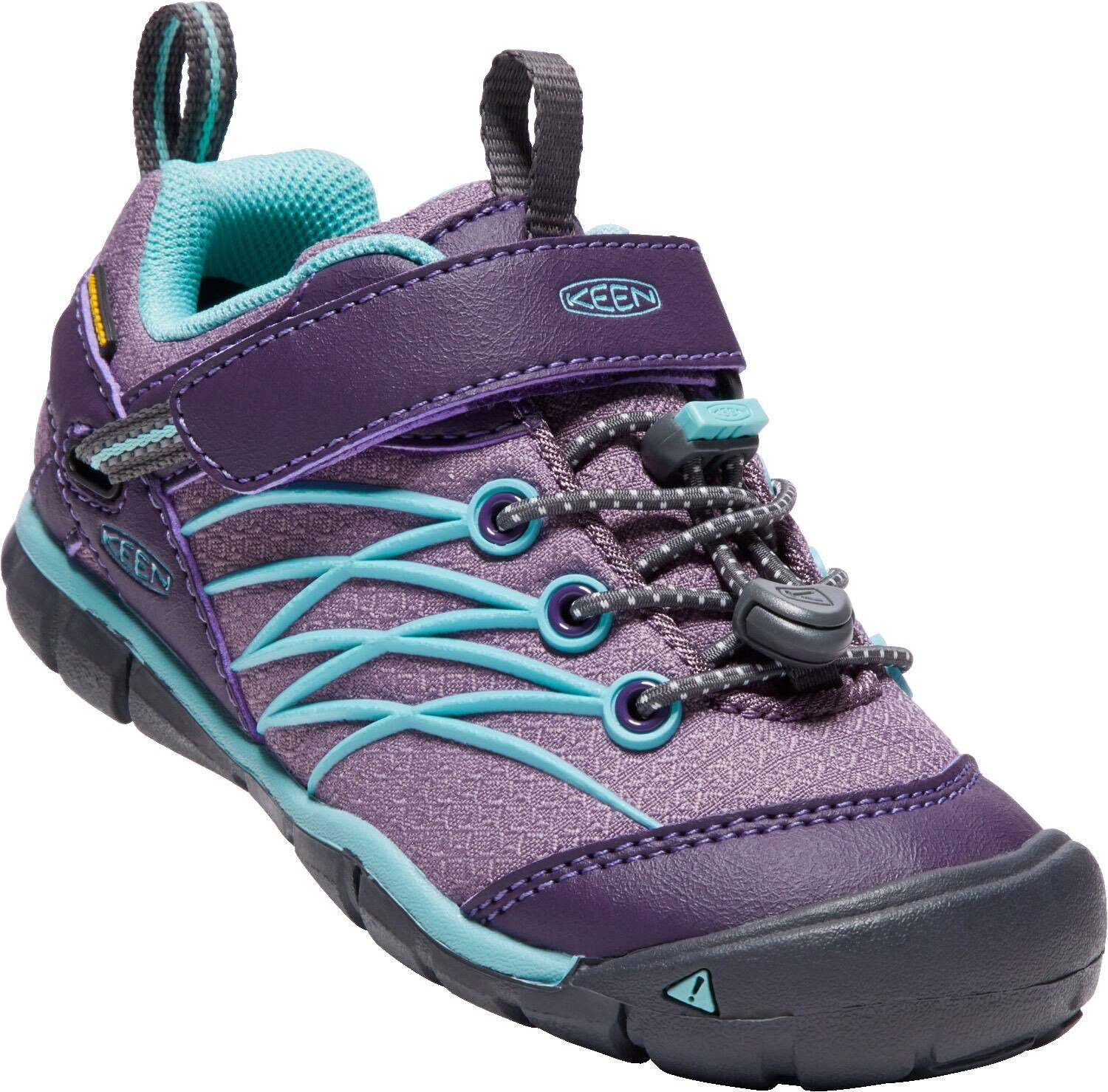 Keen Little Kids' Chandler CNX Sizes 8-13 (9 Montana Grape/Aqua Haze)