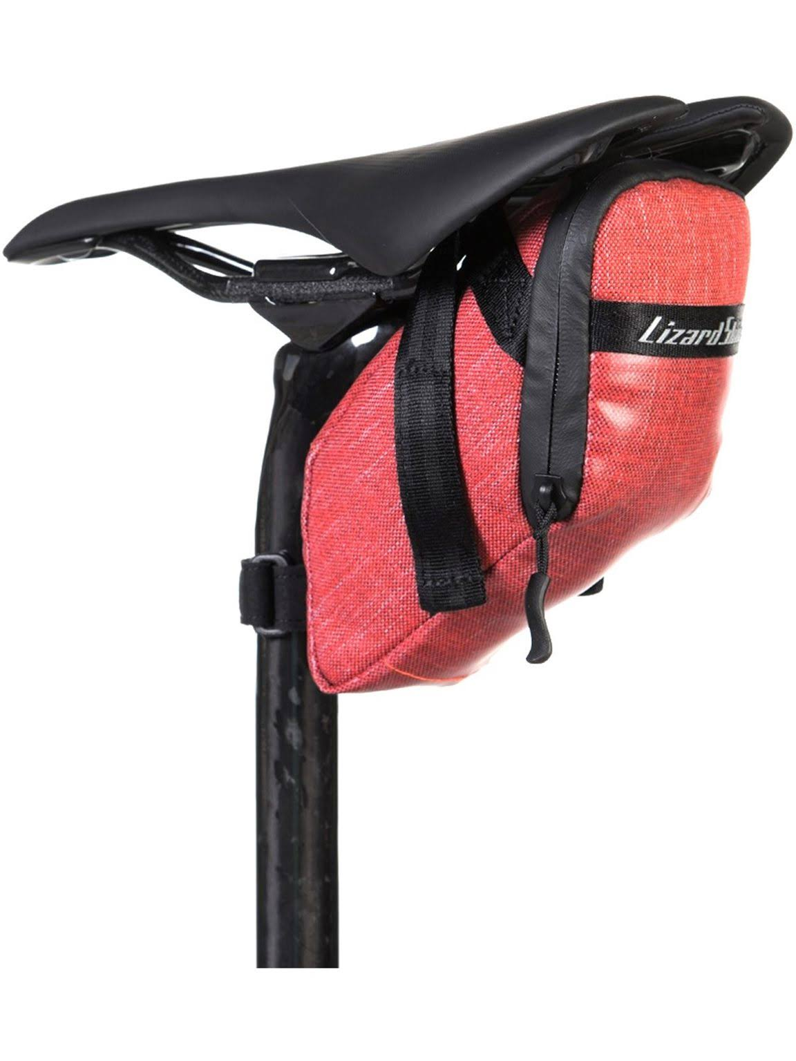 Lizard Skins Super Cache Seat Bag - Crimson