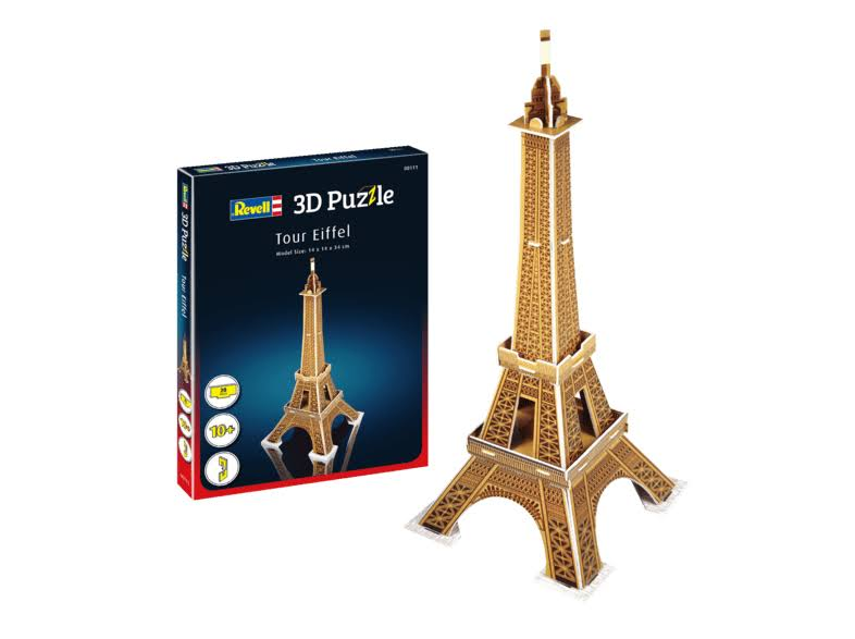 Revell - Tour Eiffel Tower 3D Puzzle