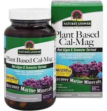 Nature's Answer Plant Based Cal-Mag Supplement - 120ct