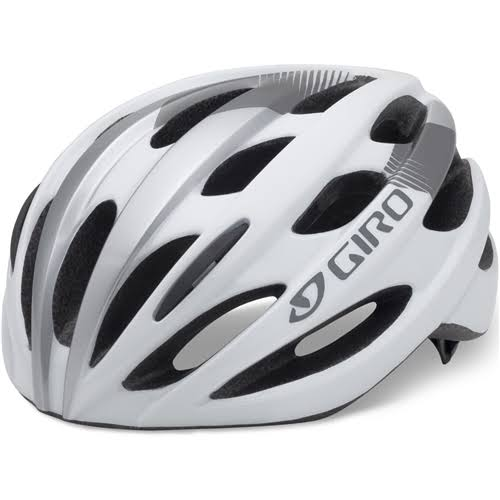 Giro Trinity Women's Road Helmet - White and Silver, One Size