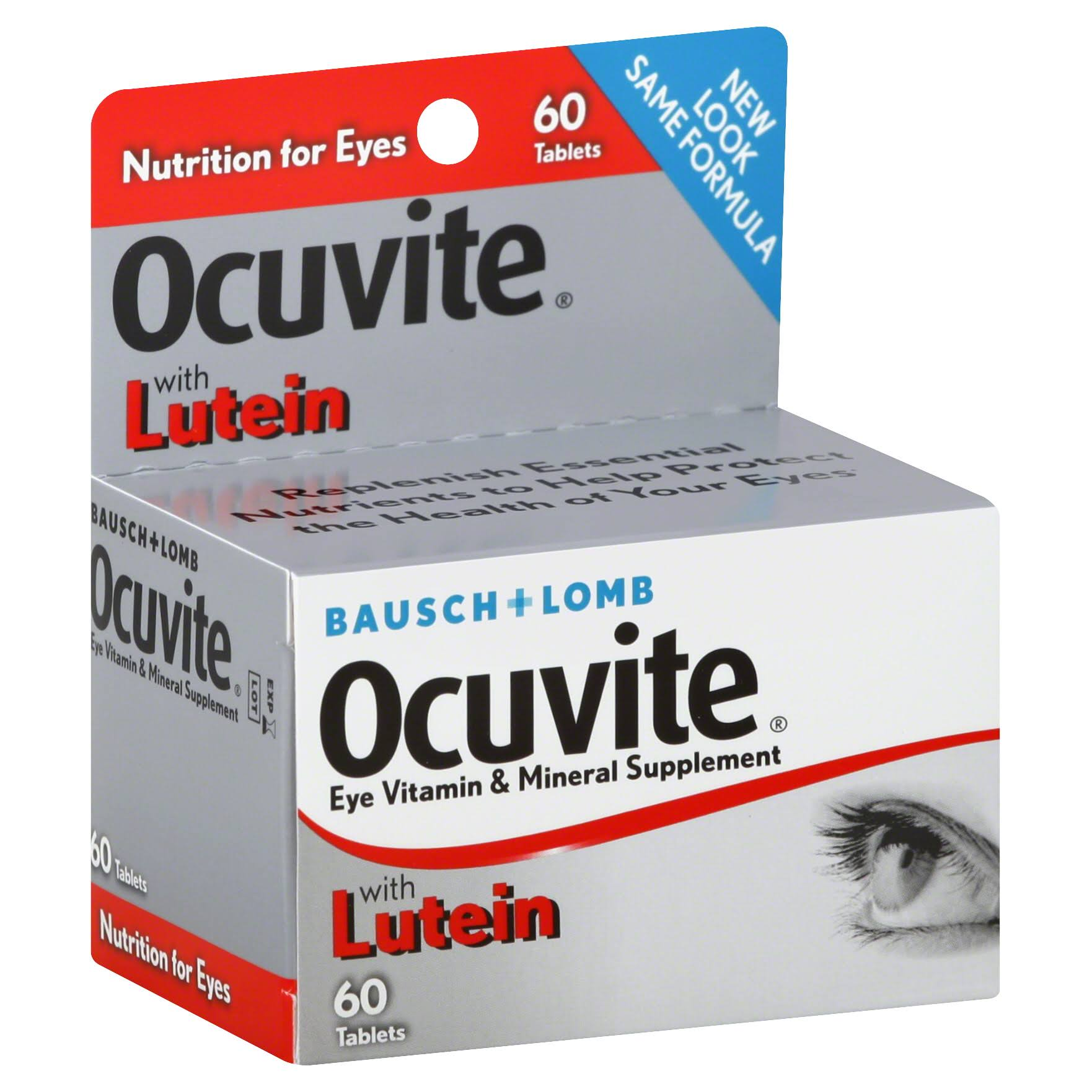 Ocuvite Eye Vitamin And Mineral Supplement - 60 Tablets