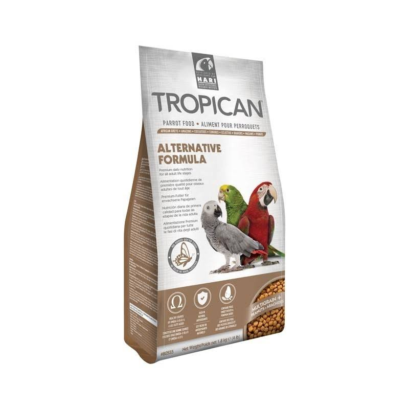 Tropican Alternative Formula Granules Parrot Food - 4lb