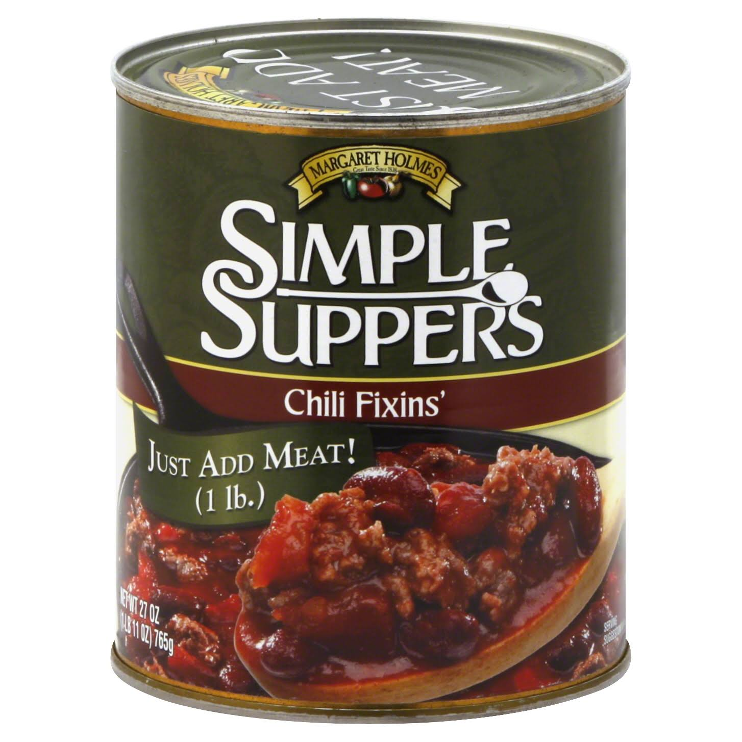 Margaret Holmes Simple Suppers Chili Fixins' - 27 oz