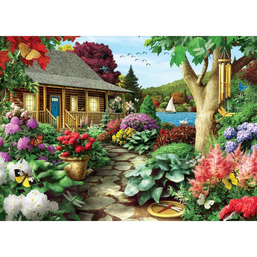 Masterpieces Time Away Dragonfly Garden 1000 Piece Puzzle