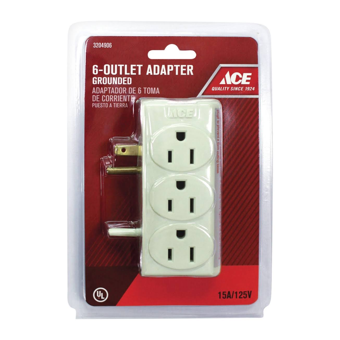 Ace 6-Outlet Adapter