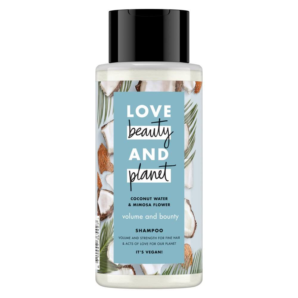 Love Beauty and Planet Volume And Bounty Shampoo - Coconut Water and Mimosa Flower, 400ml