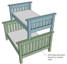 Wood Bunk Beds Plans by Build Your Own Bunk Bed Super Easy And Super Strong Diy Wood