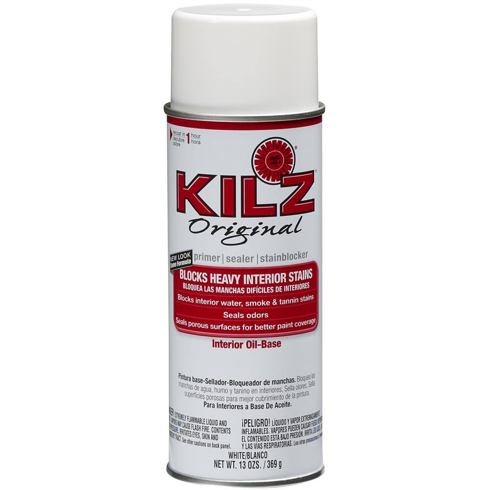 Masterchem Kilz Original Primer Spray Paint White - 13oz