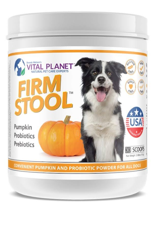 Vital Planet For Dogs Firm Stool Powder - Pumpkin, 3.92oz