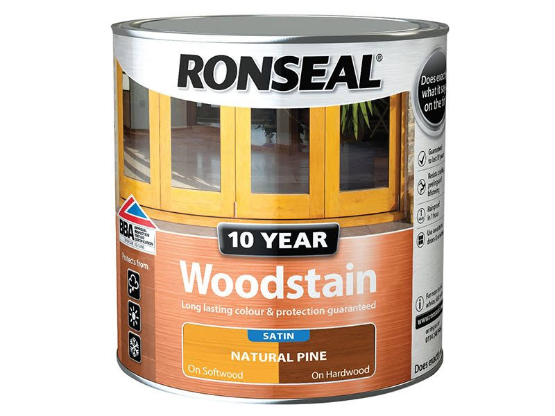 Ronseal - 10 Year Woodstain Teak 750ml