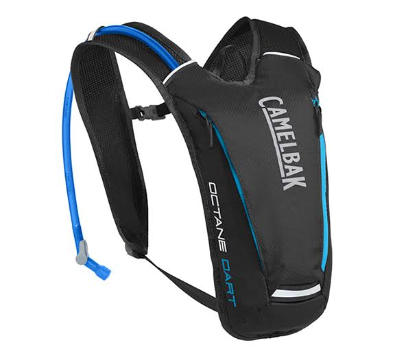 Camelbak Octane Dart Crux Reservoir Hydration Pack - Black and Atomic Blue, 50oz