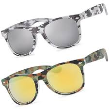 camouflage fashion vintage sunglasses retro military style camo