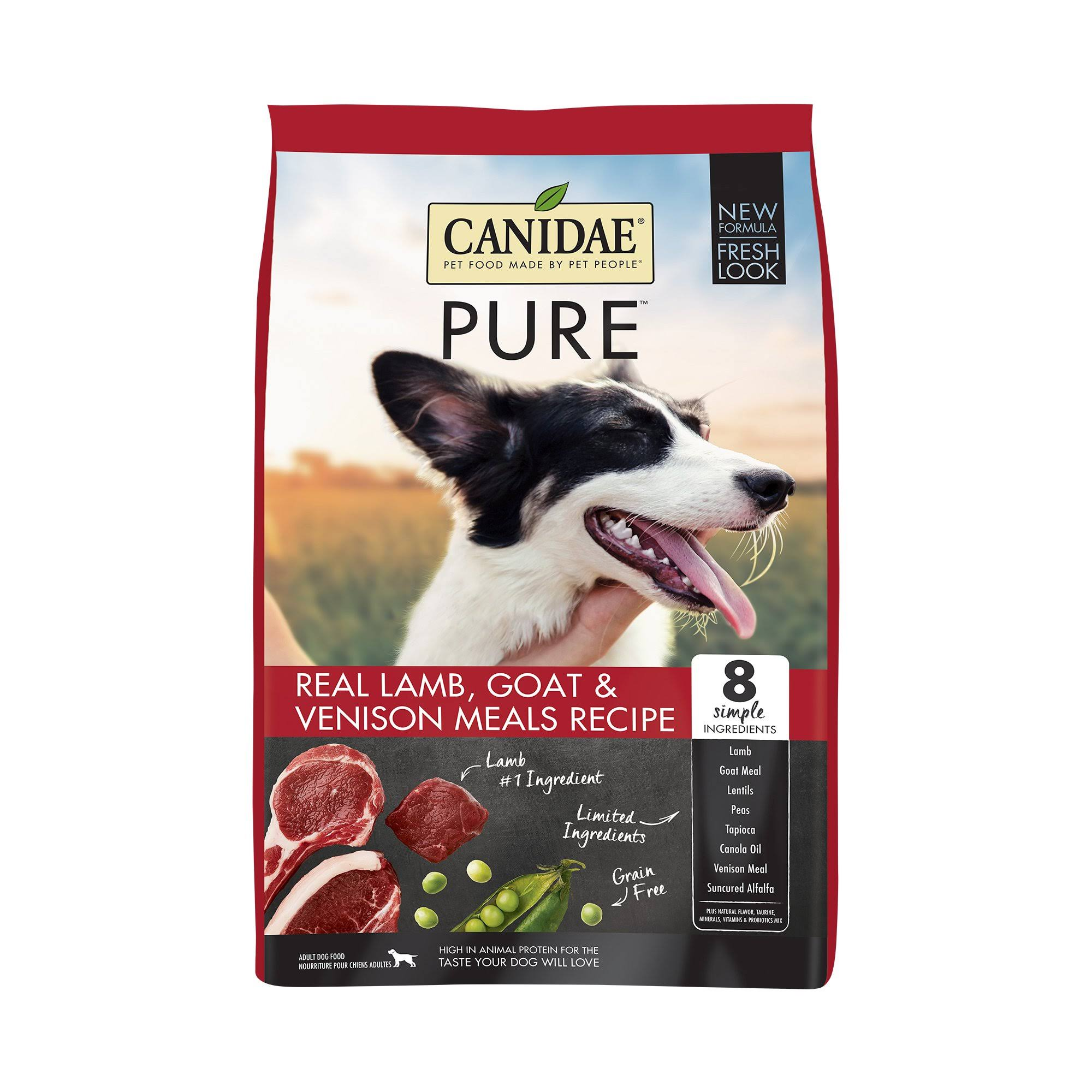 Canidae - Pure Range Red Meat Formula Dry Dog Food - 24lb