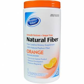 Premier Value Fibre Laxative Powder - Orange, 690ml