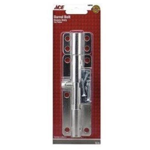 Ace Hardware Heavy Duty Barrel Bolt - 6""