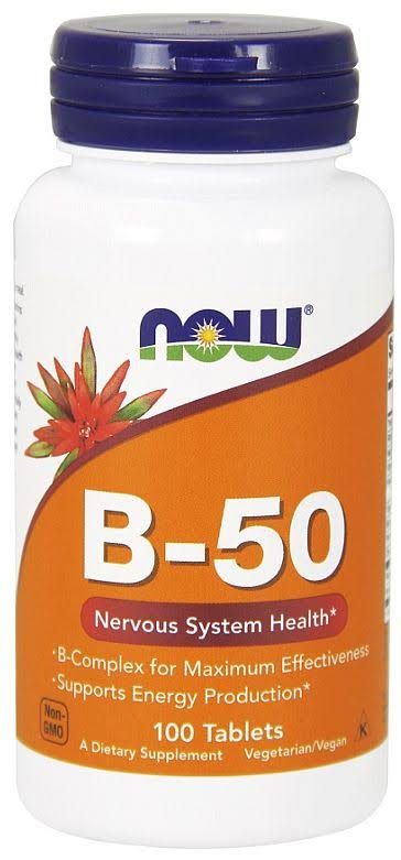 Now Foods Vitamin B-50 - 100 Capsules