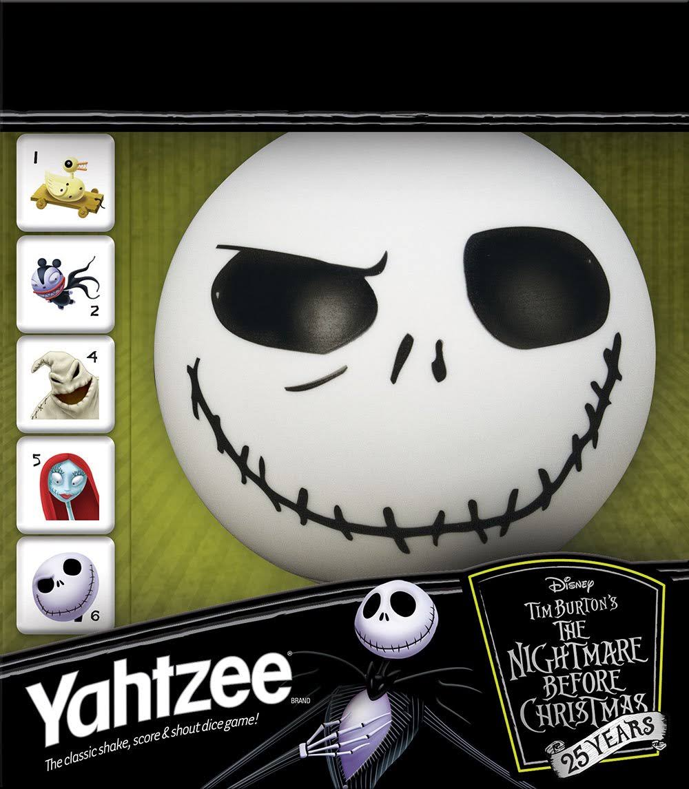 Yahtzee : The Nightmare Before Christmas 25 Years