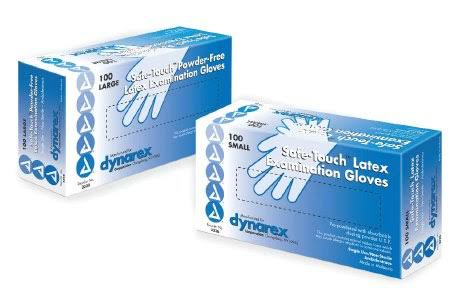 Dynarex Safetouch Nitrile Exam Gloves - Small Box, 100ct
