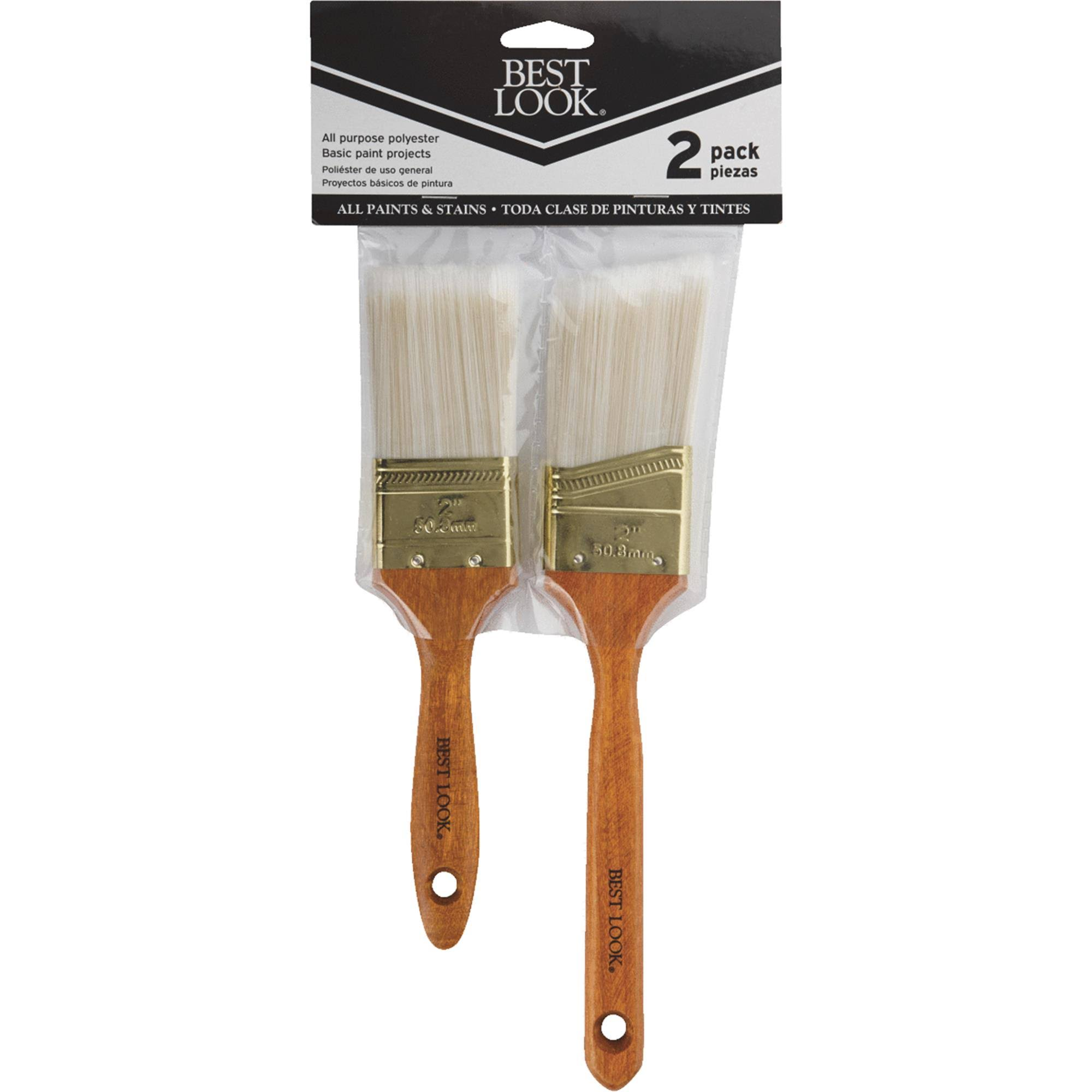 Do It Polyester Paint Brush Set - 2pcs