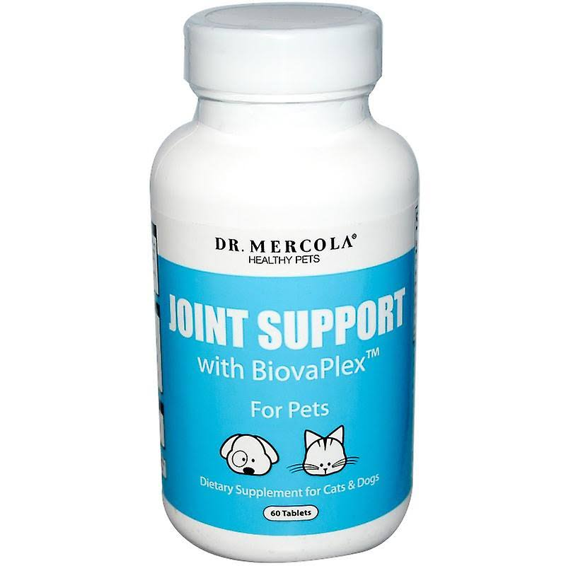 Dr Mercola Joint Support Pet Supplement - with Biovaplex, 60 Tablets