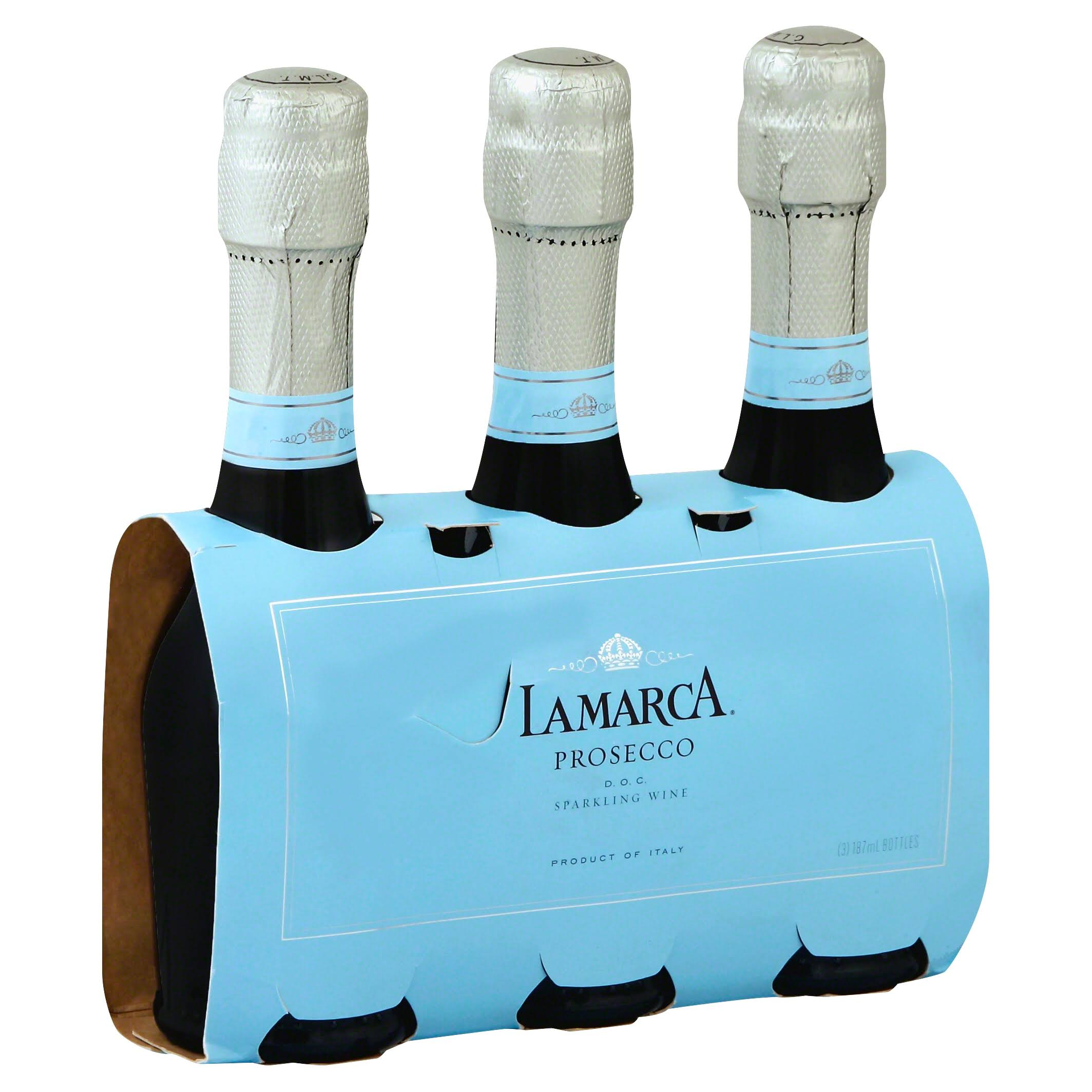 La Marca Prosecco, Sparkling Wine - 3 pack, 187 ml bottles