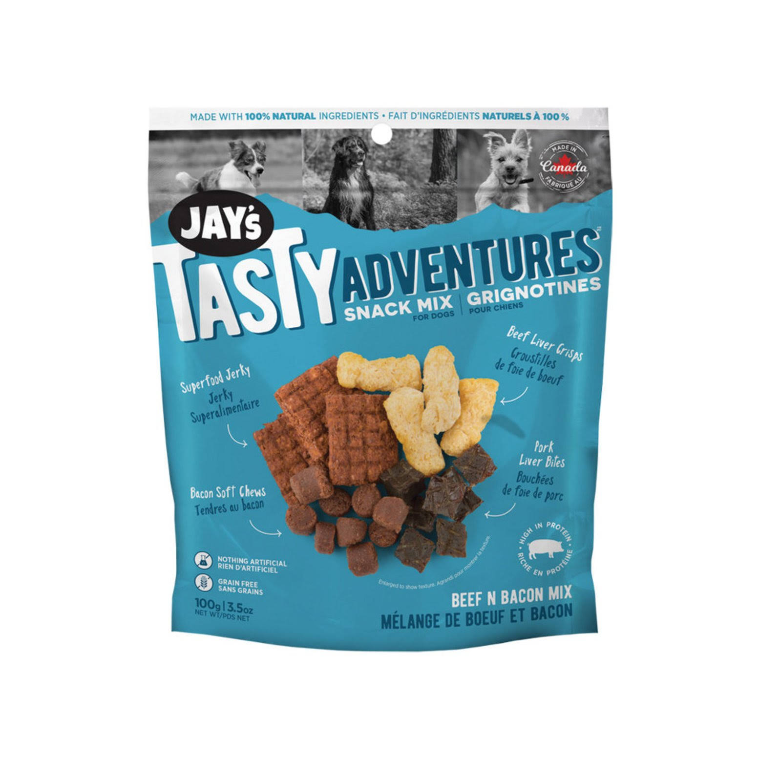 Jay's Tasty Adventures Beef N Bacon Mix 03.5 oz.