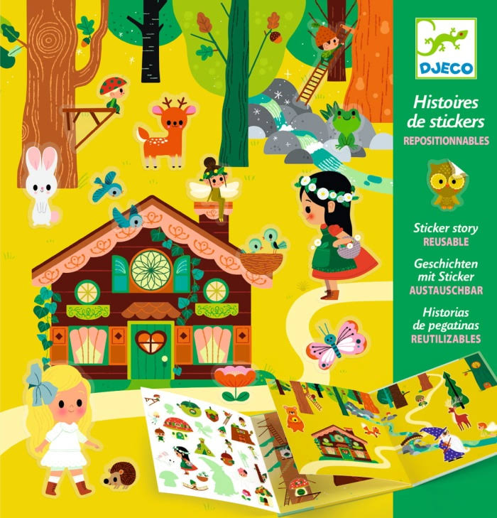 Djeco Sticker Story - The Magical Forest DJ08956