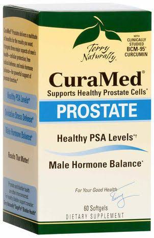 Curamed Prostate Supplement - 60 Softgels
