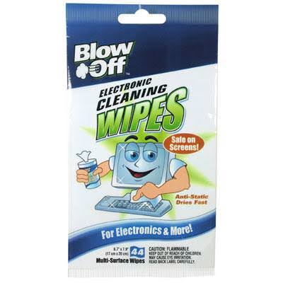 Max Professional WPB442644 Blow Off Screen Cleaning Wipes - 40pk