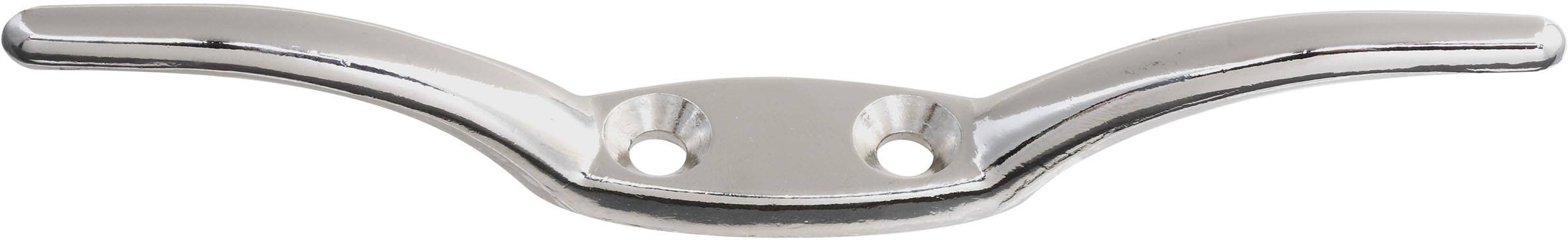 National Manufacturing Zinc Rope Cleat - Nickel, 6""