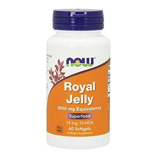 Now Foods Royal Jelly 1000mg - 60 Softgels