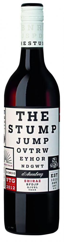 D'Arenberg Stump Jump Shiraz Wine
