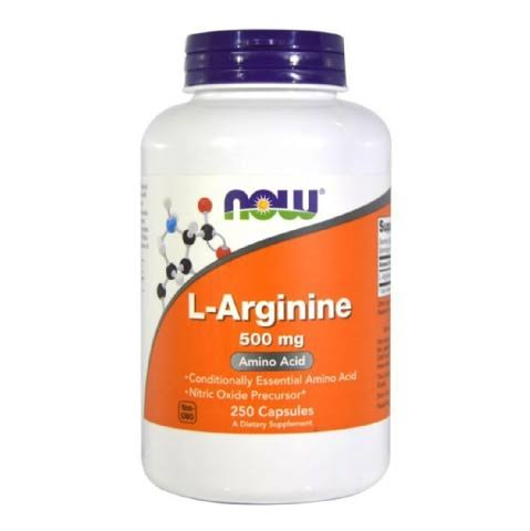 Now Foods L-Arginine Supplement - 250 Capsules