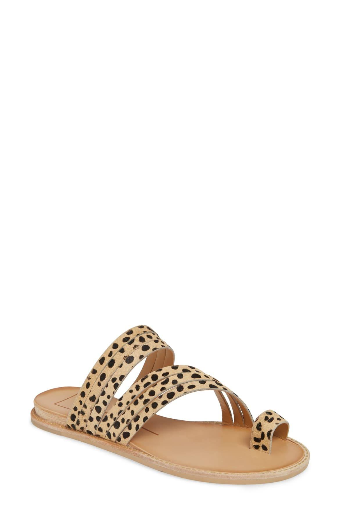 Dolce Vita Nelly Sandals- 10 / Leopard