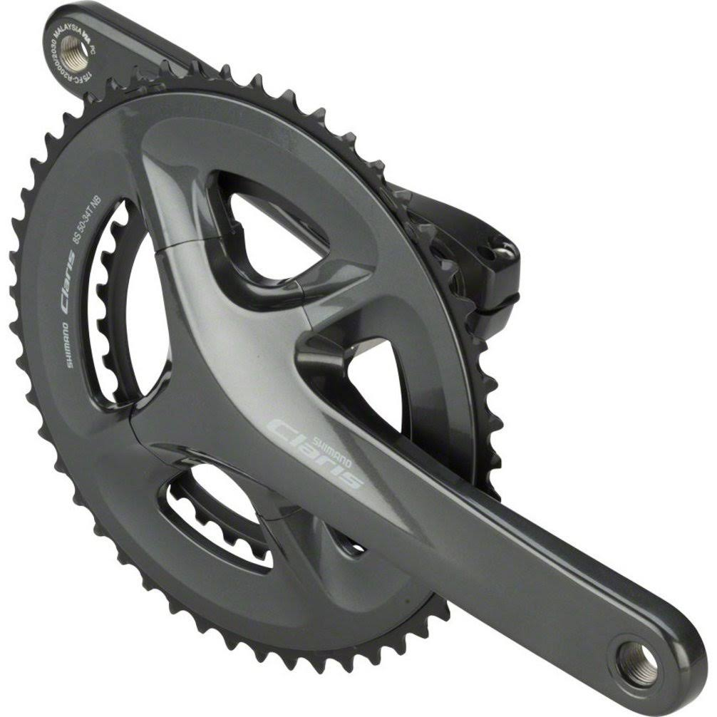 Shimano Claris R2000 Crankset - 8-Speed, 175mm, 34/50T