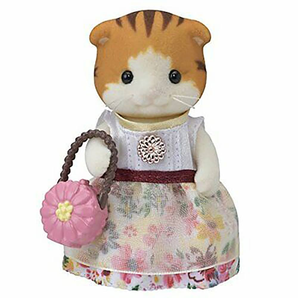 Calico Critters Town Girl Maple Cat