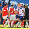 Brighton beat Arsenal in final seconds