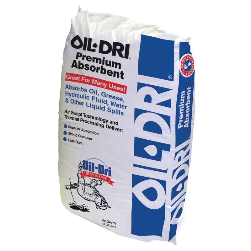 Oil-Dri 40qt Oil Absorbent